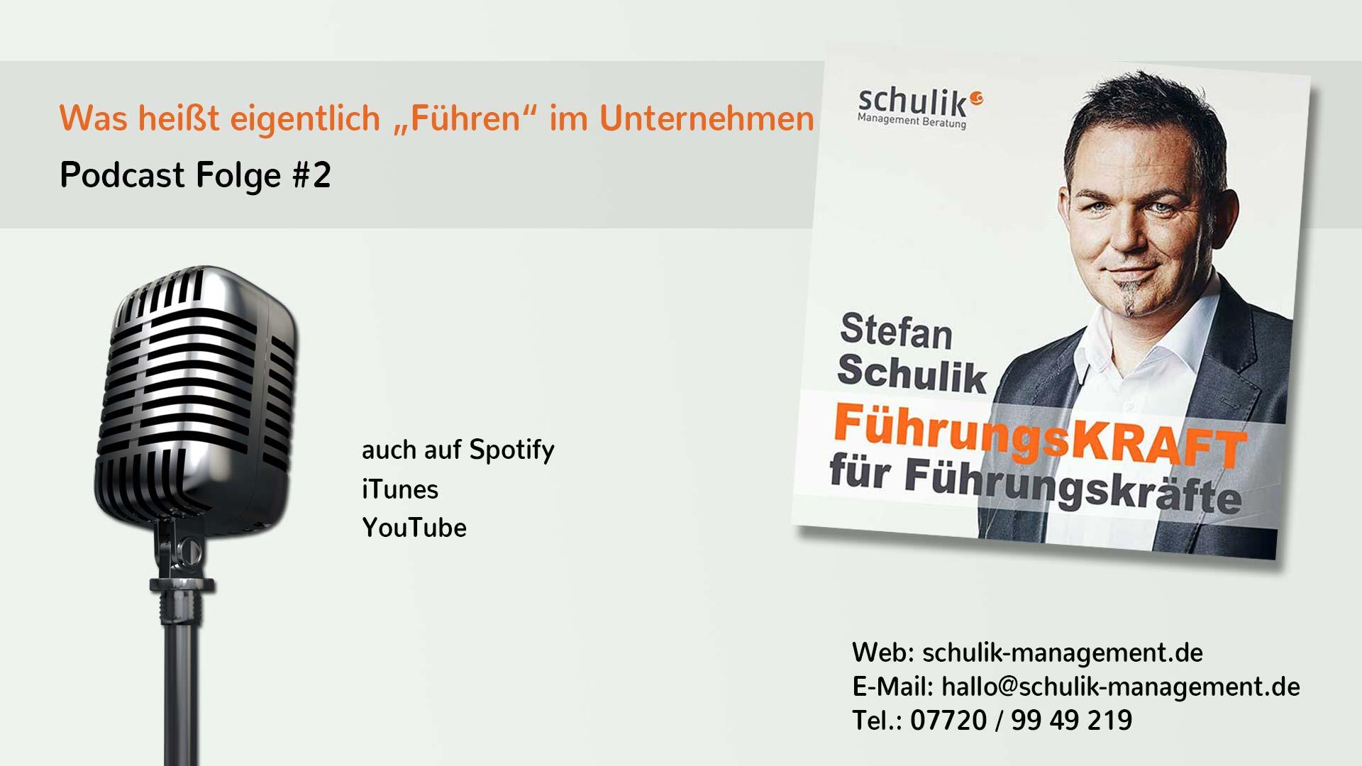 """Was Heißt Eigentlich """"Führen"""" Im Unternehmen – Podcast Folge #002"""