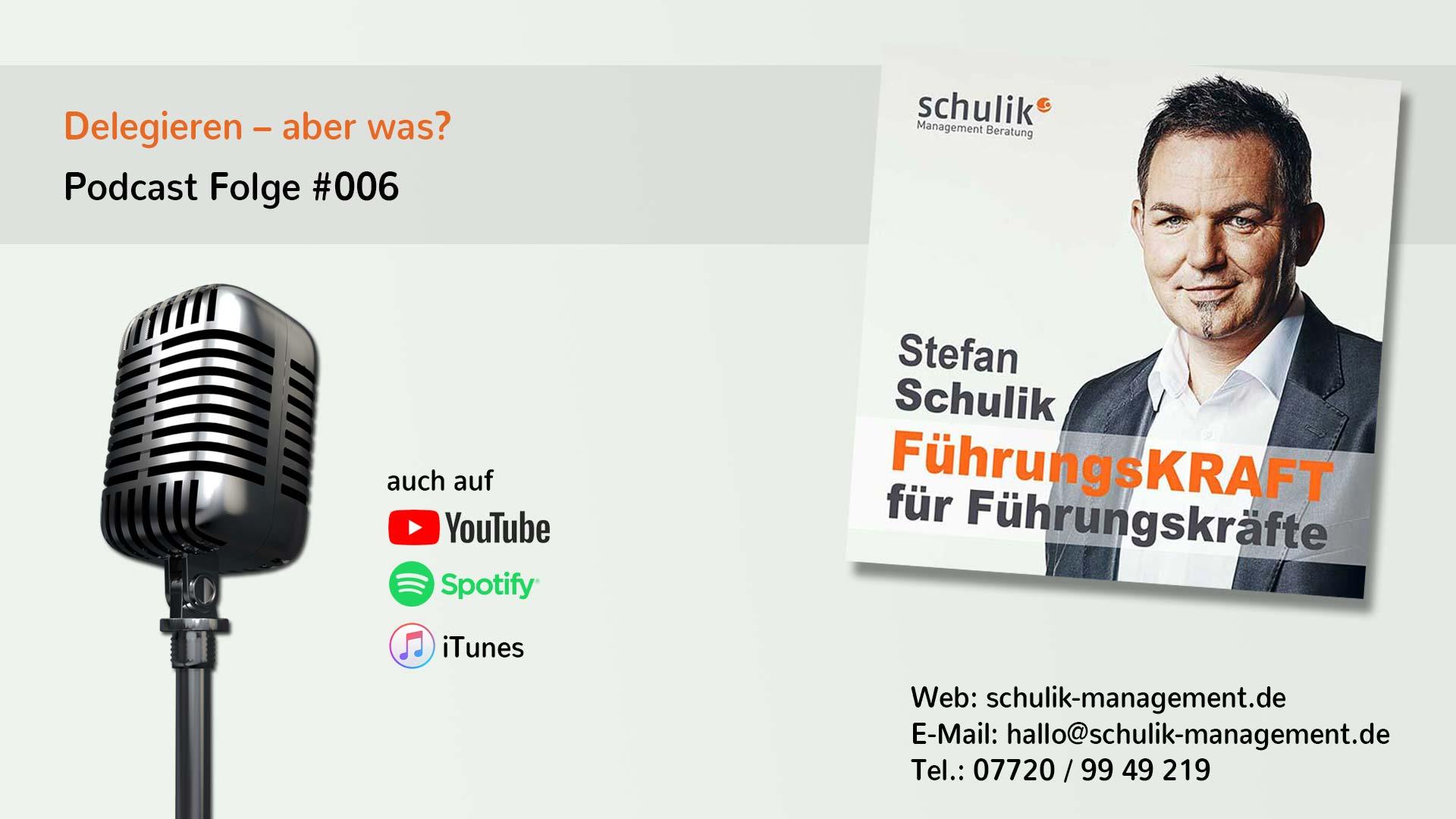 Delegieren Aber Was – Podcast Folge #006