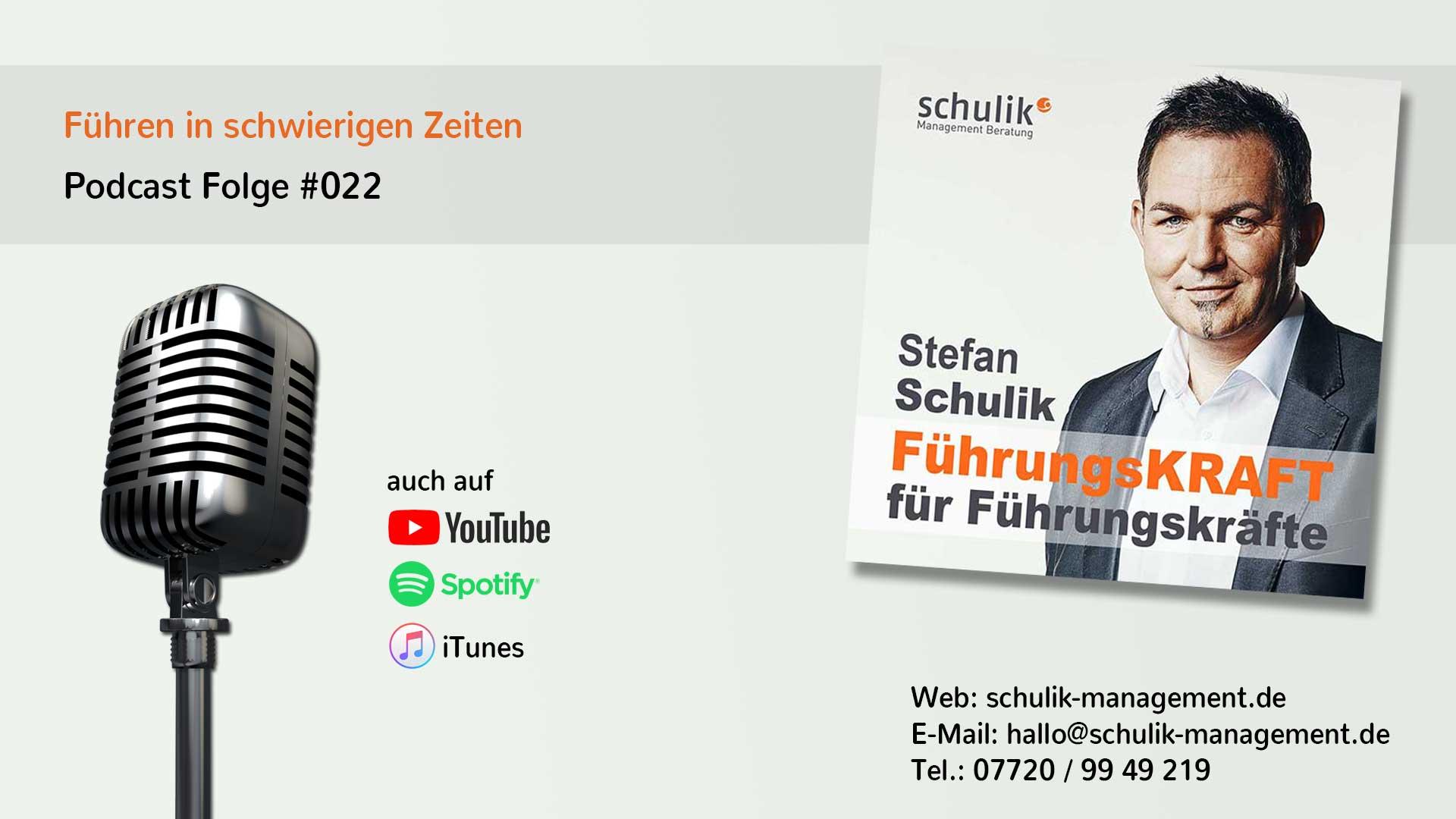Mitarbeiter Führen In Schwierigen Zeiten - Podcast