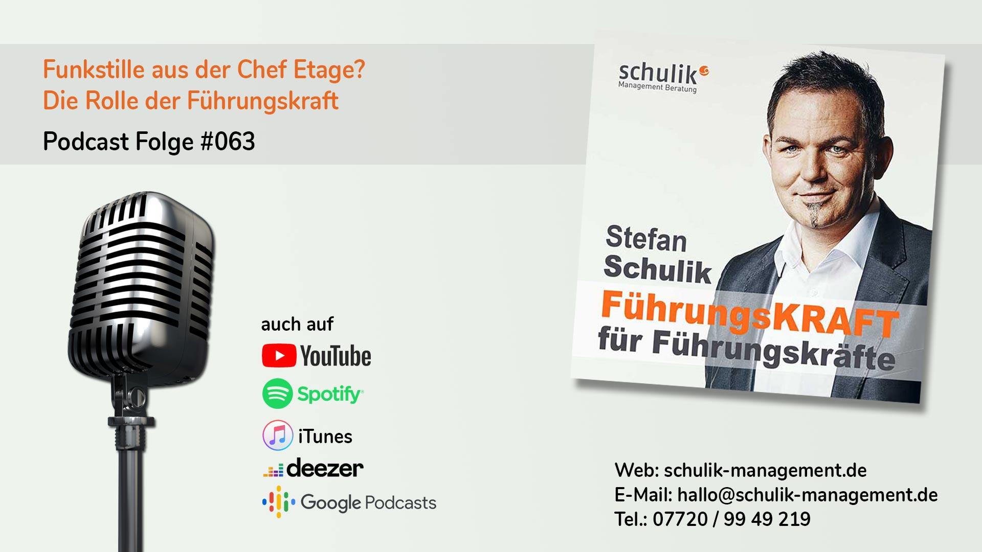Die Rolle Der Führungskraft – Podcast Folge #063