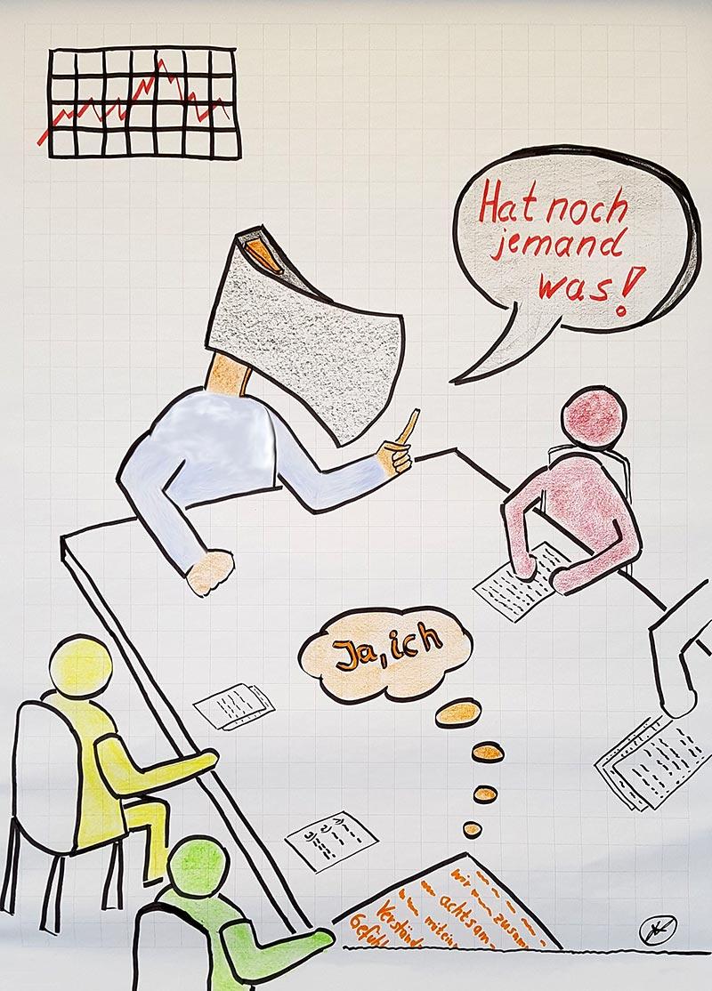 Besprechungen führen